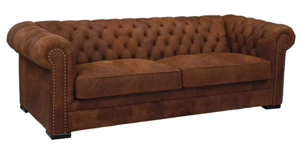 Custom Leather Sofa, Living Room Sofa by LeatherCraft Furniture - Manufacturer of Custom Leather Furniture